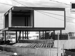 casas modernas, estrutura metalica, estruturas metalicas, sobrados, concreto aparente, prefab, steel, house