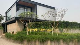 casa de alto padrão, estrutura metalica, casas modernas