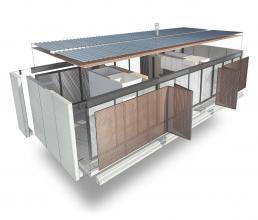 cornetta, casas ecologicas, estruturas metalicas, premoldados, pre fabricados, pre moldados, lofts, casas de campo, casas de praia