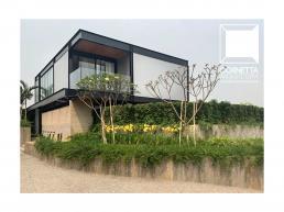 casas modernas, estrutura metalica, sobrados