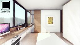 cornetta arquitetura, casas modernas, estrutura metalica, estruturas metalicas, suíte, suites, quarto, dormitorio, madeira