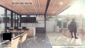 cornetta arquitetura, casas modernas, estrutura metalica, estruturas metalicas, varanda, piscina, deck