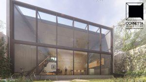 cornetta arquitetura, architecture, prefab, pre moldados, concreto aparente, fachadas modernas, casas modernas, casas de praia, loft, lofts, industrial