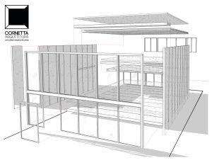 perspectiva, vista, explodida, revit, bim, arquitetura, architecture