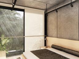 cornetta arquitetura, projetos, arquitetura, casas modernas, pré moldados, concreto aparente, suites, dormitorios
