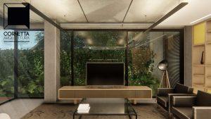 cornetta arquitetura, cornetta, arquitetura, casas de concreto, concreto aparente, pré moldados, loft, sala de estar
