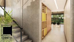 cornetta arquitetura, cornetta, arquitetura, casas de concreto, concreto aparente, pré moldados, escada,acesso,madeira, loft