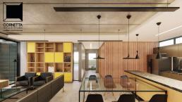 cornetta arquitetura, cornetta, arquitetura, casas de concreto, concreto aparente, pré moldados, ambientes integrados, ambientes conjugados