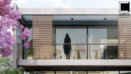 cornetta arquitetura, cornetta, arquitetura, casas de concreto, concreto aparente, pré moldados, sacada, minimalismo,linhas retas