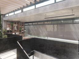 cornetta arquitetura, arquitetura, casas modernas, casas minimalistas, concreto aparente, pergolados, madeira, jardim