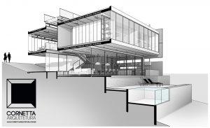 projetos, arquitetura, arquiteto, sobrado, casas modernas, bim