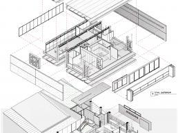 projeto, arquitetura, engenharia, bim, revit, axonometrica, detalhamento, concreto, pré moldados