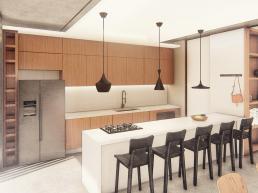 cozinha, aberta, integrada, conjugada, ilha, bancada, central