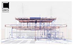 cornetta, arquitetura, prefab, conccrete, steel, houses, bim