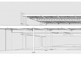 projetos, casas, prefabricadas, estrutura metalica, concreto
