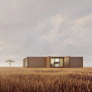 cornetta arquitetura loft casas prefabricadas