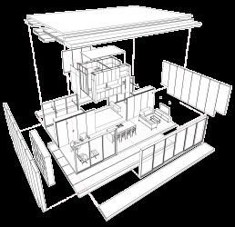 cornetta arquitetura, cornetta, arquitetura, architecture, bim, casas pre fabricadas