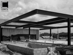 cornetta arquitetura, prefab, steel, houses, estruturas metalicas