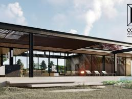 projetos, casas modernas, varanda, gourmet, lazer, piscina, deck, pergolado