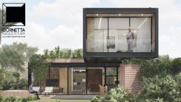 cornetta arquitetura, casas pre fabricadas, estrutura metalica, casas em estrutura metálica, prefab, steel, houses