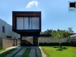 fachadas casas modernas estrutura metalica