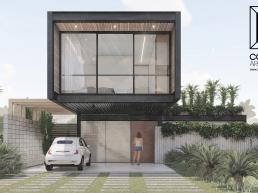 cornetta arquitetura, casas pre fabricadas, estrutura metalica, casas em estrutura metálica, prefab, steel, house