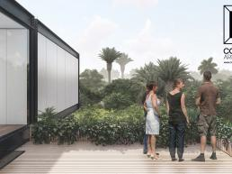 cornetta arquitetura, casas pre fabricadas, estrutura metalica, casas em estrutura metálica, terraço, rooftop, deck, madeira, porto velho