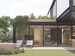 cornetta arquitetura, casas pre fabricadas, estrutura metalica, casas em estrutura metálica, casas minimalistas, minimal house, steel house