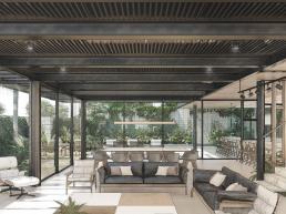 cornetta arquitetura, arquitetura, casas modernas, estrutura metalica, ambientes integrados, steel deck