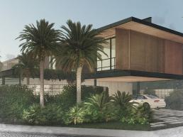 casas modernas minimalistas, cornetta arquitetura, arquitetura, casas modernas, estrutura metalica, fachadas, sobrados, corten