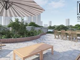 cornetta arquitetura, projeto, arquitetura, concreto aparente, estrutura metalica, rooftop, terraço, lazer