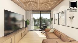 cornetta arquitetura, arquitetura, casas modernas, estrutura metalica, home, rooftop