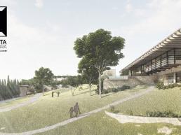 cornetta arquitetura, casas modernas, natureza, terreno, declive, aclive, casas ecologicas, sustentabilidade