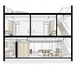 loft sobrados modernos concreto aparente estruturas metalicas
