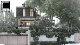 cornetta arquitetura, casas modernas, estruturas metalicas, sao paulo, brazil, loft, eco house