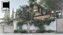 cornetta arquitetura, casas modernas, estruturas metalicas, casas prefabricadas, prefab houses