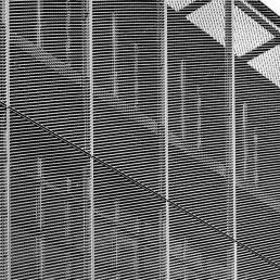 fachadas, modernas, chapa perfurada