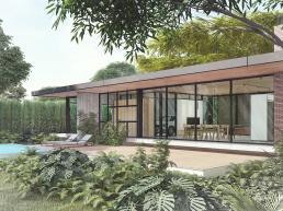 cornetta arquitetura, casas pre fabricadas, estruturas metalicas, eco house, casas ecologicas modernas