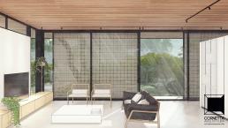 cornetta arquitetura, casas pre fabricadas, estruturas metalicas, ambientes integrados, ambientes conjugados