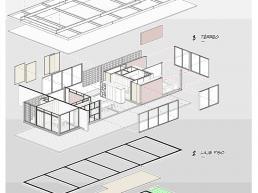 cornetta arquitetura, casas pre fabricadas, estruturas metalicas, axonometrica, isometrica, bim, revit