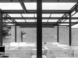 cornetta arquitetura, prefab, steel, houses, exposed concrete