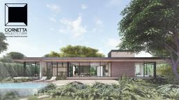 cornetta arquitetura, casas pre fabricadas, estruturas metalicas, casas térreas