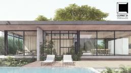 cornetta arquitetura, casas pre fabricadas, estruturas metalicas, loft em estrutura metálica