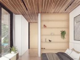 cornetta arquitetura, casas pre fabricadas, estruturas metalicas, suites modernas, madeira