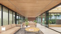 cornetta, arquitetura, casas modernas, estruturas metalicas, madeira, concreto, minimalista