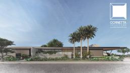 cornetta, arquitetura, casas modernas, fachadas, casas terreas, casas minimalistas, brutalismo, pre fabricação