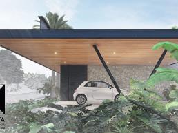cornetta, arquitetura, casas modernas, casas pré fabricadas, estruturas metálicas, garagem aberta