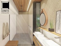 cornetta, arquitetura, casas modernas, projeto, interiores, desihn, banho, banheiro, moderno