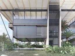 cornetta arquitetura, projetos, arquitetura, casas modernas, estrutura metalica, fachada