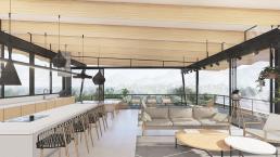 cornetta arquitetura, projetos, arquitetura, casas modernas, estrutura metalica, loft, concreto, madeira